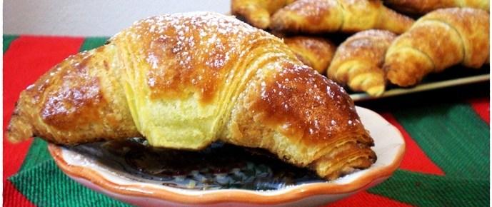 Croissant sfogliati ricetta dolci