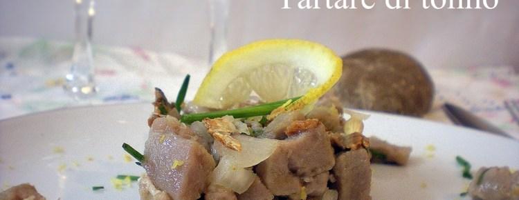 Tartare di tonno ricetta antipasti