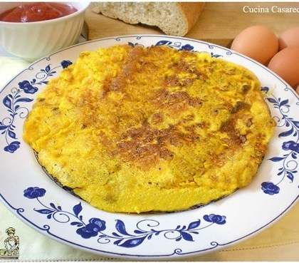 Frittata di pane e uova