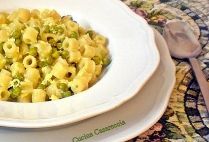 Pasta e piselli ricetta primi piatti