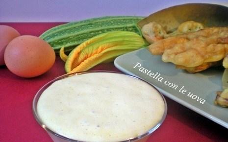 Pastella per il fritto con le uova