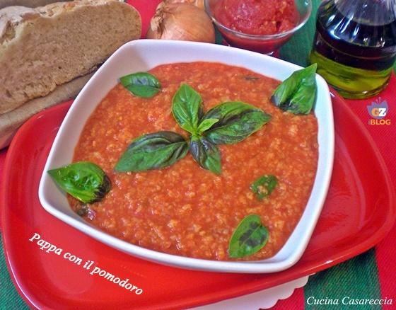 Pappa con il pomodoro ricetta Toscana