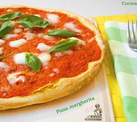 pizza margherita cucina casareccia