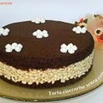 Torta cioccoriso senza cottura