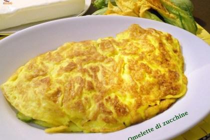 Omelette con zucchine