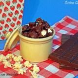 Pop corn con cioccolato