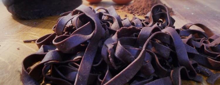 Fettuccine o Tagliatelle al cacao