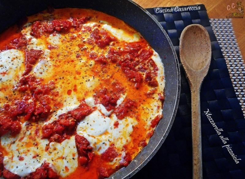 Mozzarella alla pizzaiola