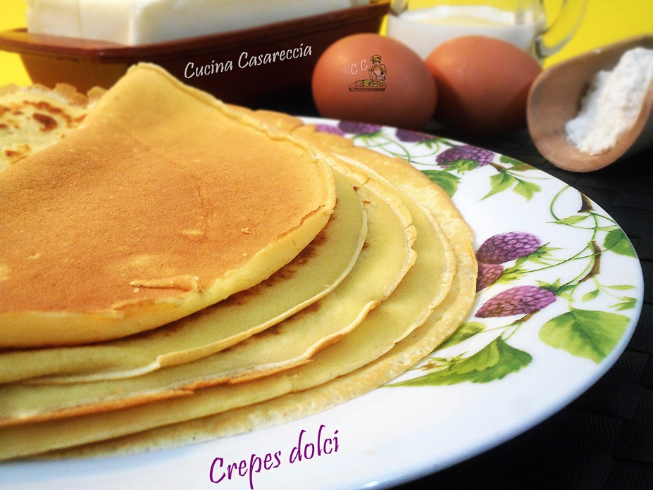 Crepes dolce ricetta base