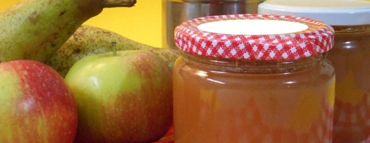 Confettura di mele e pere
