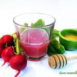 Succo ravanelli e miele