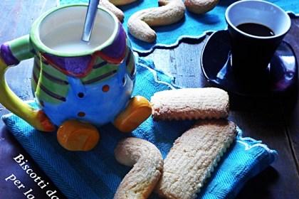 Biscotti da inzuppo per la colazione