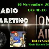 La mia intervista su Radio Aretino F.M.