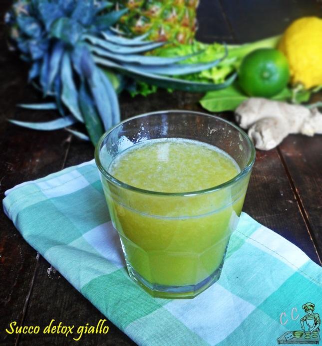 Succo detox giallo