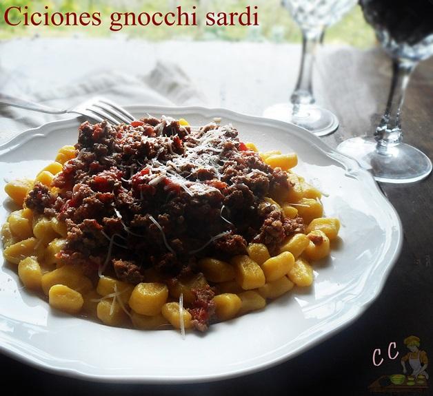 Ciciones gnocchi sardi