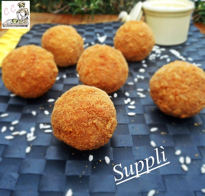 Supplì ricetta antipasto finger food