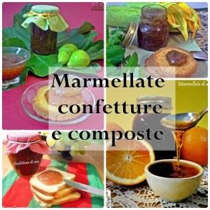 CONFETTURE E MARMELLATE