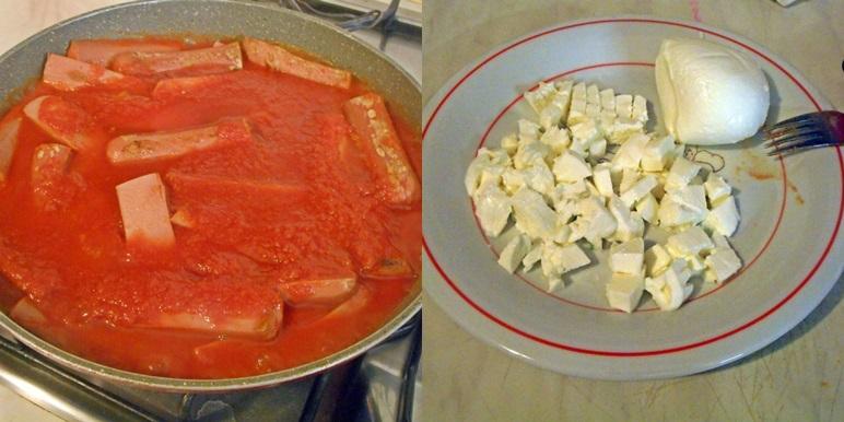 Ricetta Wurstel Pomodoro E Mozzarella.Wurstel Pomodoro E Mozzarella Del Blog Cucina Casareccia