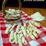 Busiate pasta fresca siciliana senza uova