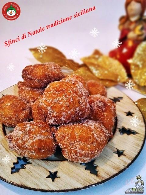Sfinci natalizie tradizione siciliana