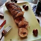 Filetto di maiale ripieno di castagne