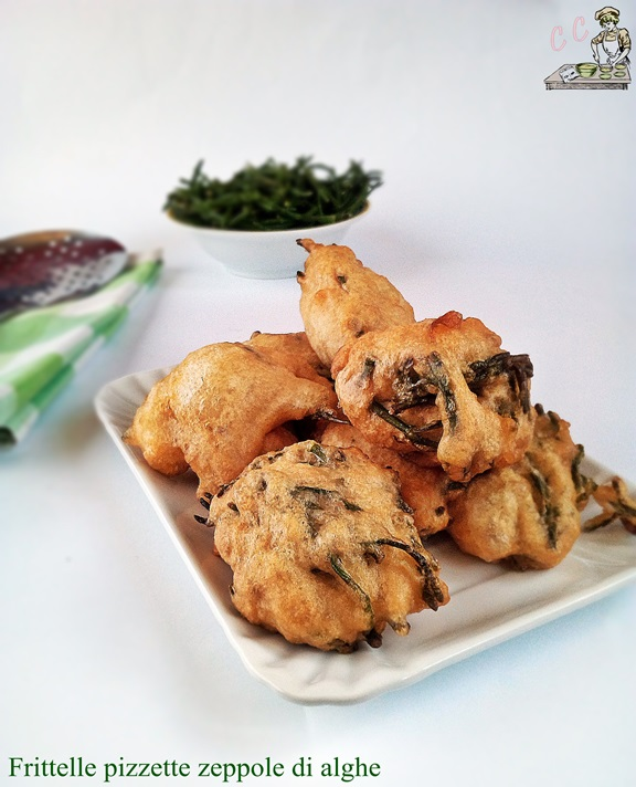 Frittelle pizzette zeppole di alghe