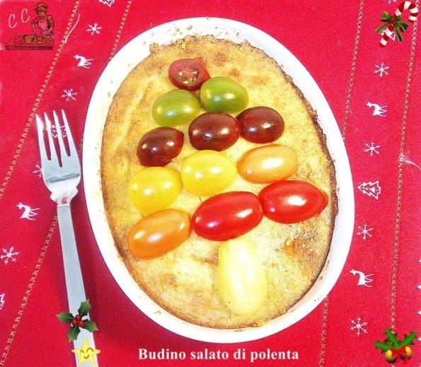 Budino salato di polenta
