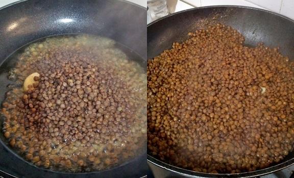 Cotechino e lenticchie in cestini di pasta brisè