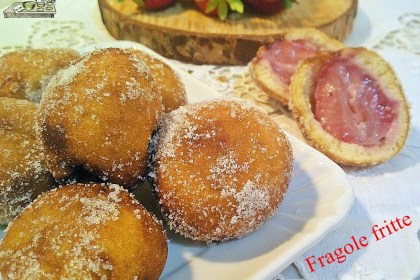 Fragole fritte