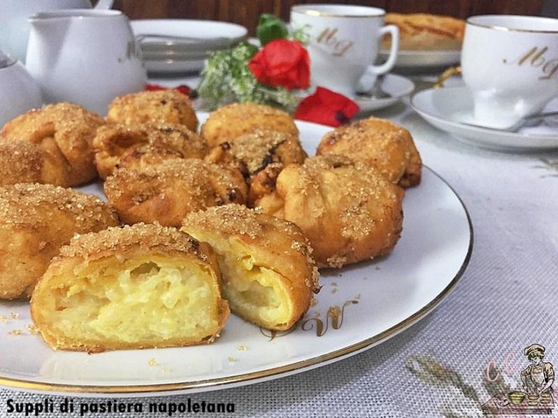 Supplì di pastiera napoletana