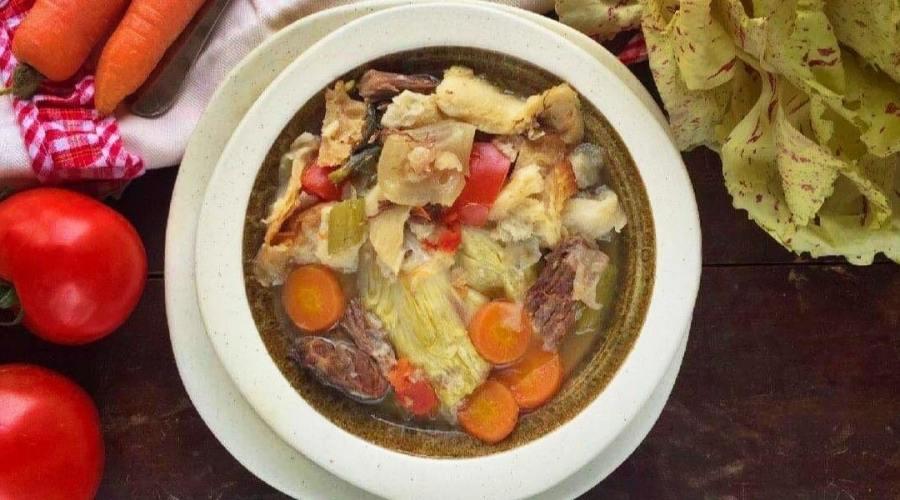 Carcerato zuppa toscana con radicchio variegato