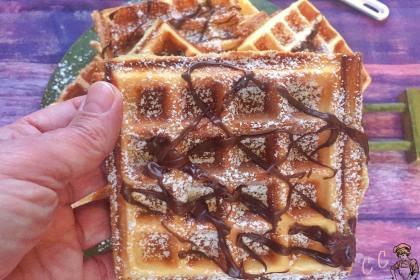 Waffle ricetta originale