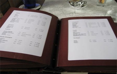 La carta dei vini in breve  Le ricette di CucinacoNoi