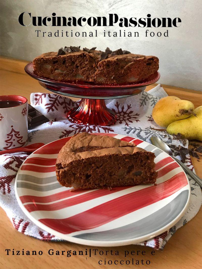 torta pere e cioccolato Torta pere e cioccolato Torta pere e cioccolato