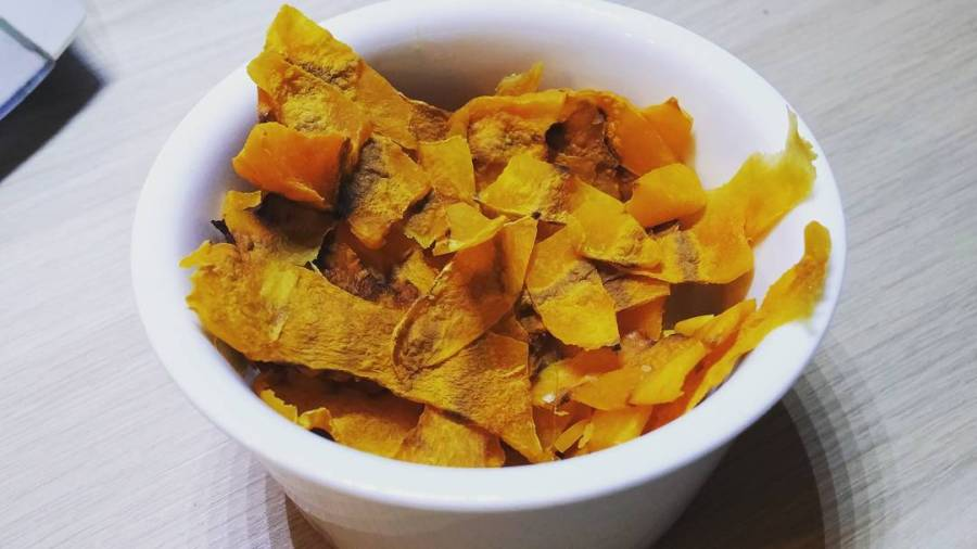 #chips #zucca #spuntino #sera #food #lightfood #micro #microwave #dukan #diet #patatine #verdura #wayoflife #dukanstyle #cucinadulight