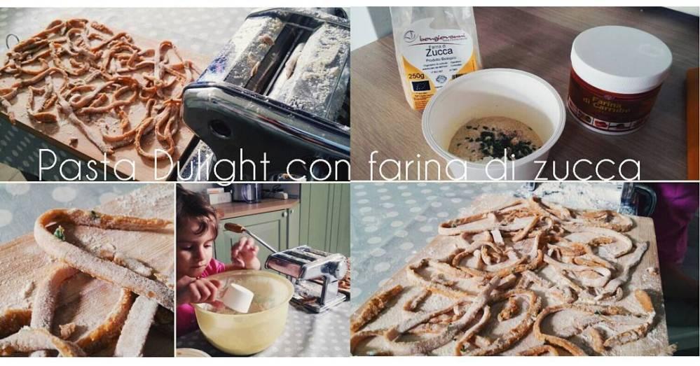 #lunch #pasta #pastamachine #farina #zucca #carrube #food #lightfood #dukan #diet #youtubechannel #cucinadulight #cook #kitchen #miaandme #baby #babychef #healty @bongionatura