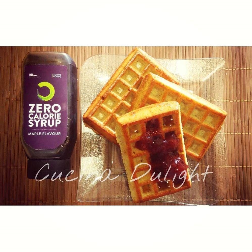 #dulight #cucinadulight #dukan #dukandiet #waffles #bulkpowders #bananafudge #proteins #chia #seeds #strawberry #jam #cinnamon #lowfat #lowcarb