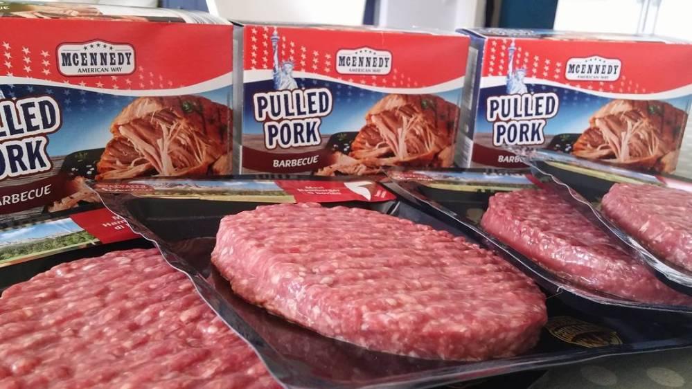 #pork #pulledpork #hamburger #maxi #lidl #dukan #diet #quartafase #noveggies #carne #america #food #americanfood #lunch #cucinadulight #cucinaproteica
