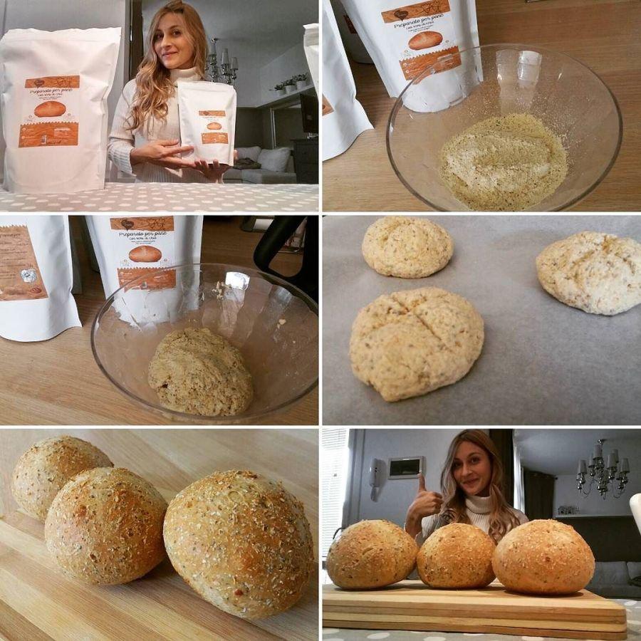 #mixdulight #preparato #pane #mischia & #cuoci #fast & #easy #protein #proteinfood #lightfood #dukan #diet #tibiona @bongionatura #vendita #online #chef #cheflife #forneria