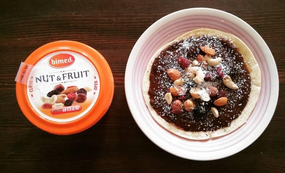 #breakfast #morning #pancakes #preparatidulight #tibiona #nutandfruit #jctella #cocco #dukan #diet #lightfood #highprotein #cheflife #cucinaproteica #cucinadulight