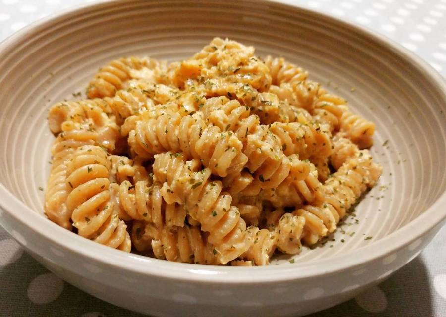 #dinner #pasta #integrale #fusilli #polpadigranchio #granchio #panna #lightfood #instafood #chef #cheflife #cucinaproteica #quartafase #dukan #diet #cucinadulight