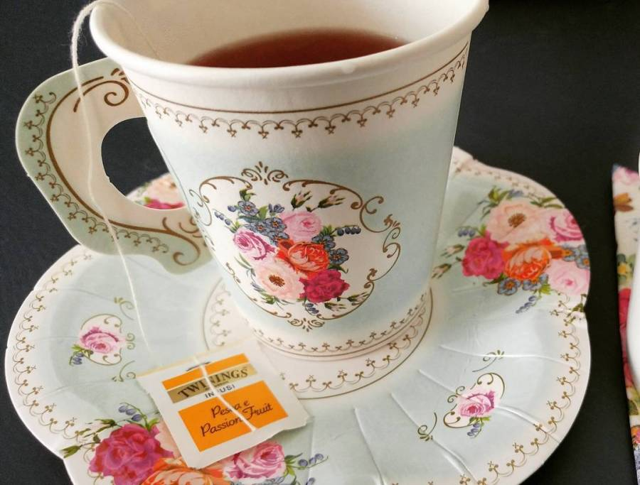 #acupoftea #tea #twinings #breakfast #morning #spring #giustacchini #food #sweet #tisana #relax