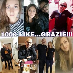 1000 Likes alla pagina