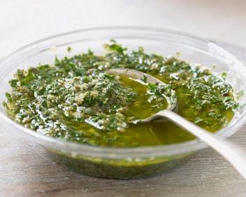 Salsa pe-o pescio boggio (Salsa per pesce lesso)