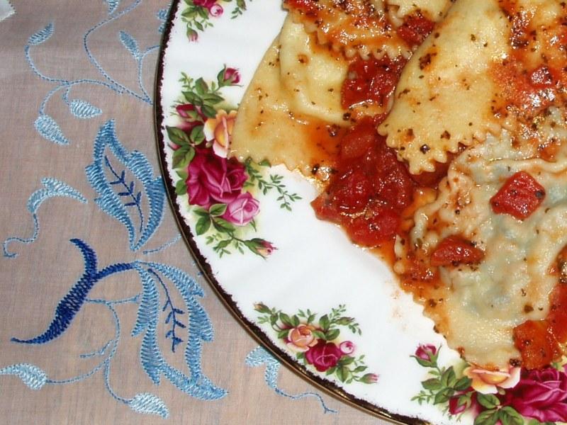 Zembetti d'arziglio (Ravioli di pesce)