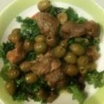 Cinghiale alle olive verdi