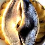 Filetti di spigola con patate al forno