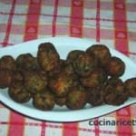 Polpette di carne con spinaci