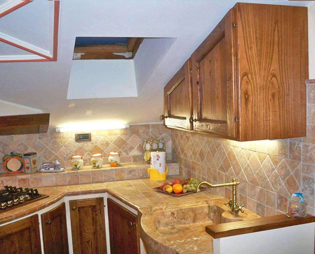 Cucina in muratura per piccoli spazi  Le cucine dellArtigiano