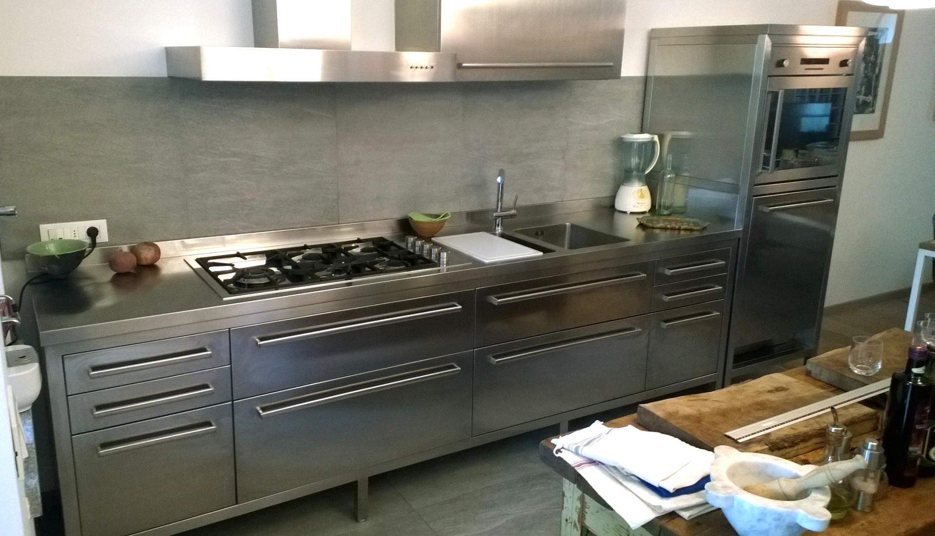 Cucine Acciaio Inox  Borlina Acciaio